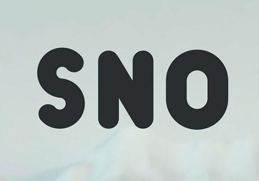 SNO Vector Typeface