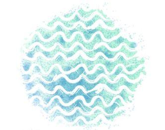 Vector Summer Waves