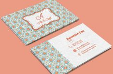 Vintage Agency Business Card Template (PSD+Vector)