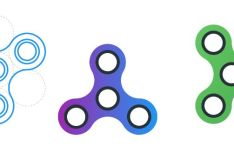 Fidget Spinner Vector