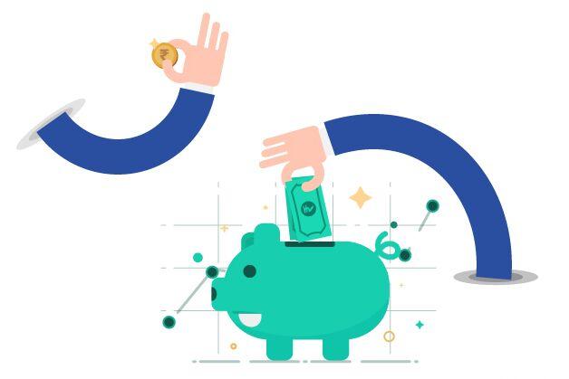 Save Money Vector Illustration