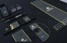 Dark Branding Identity Pack