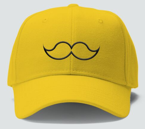 Hipster Yellow Hat