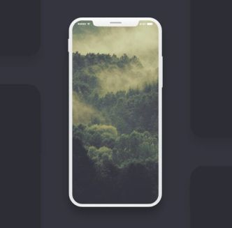 iPhone 8 Screen Mockup PSD