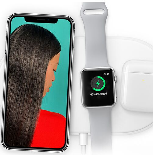 iPhone X and Apple Watch PSD Mockup