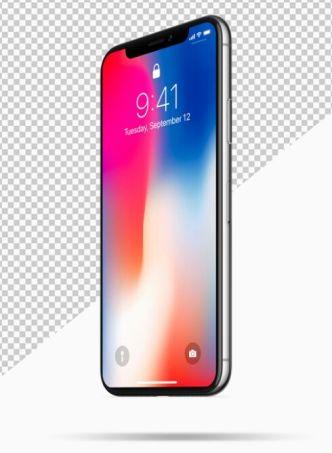 2 Realistic iPhone X Mock-ups PSD