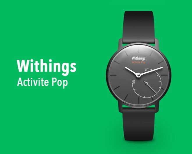 Withings Activité Pop PSD Mockup