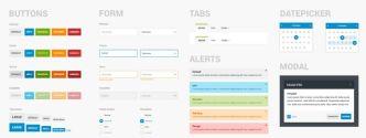 Minimal UI Kit For Desktop & Mobile