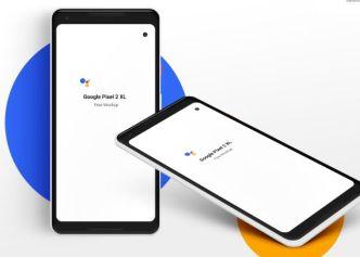 Google Pixel 2 XL PSD Mockups