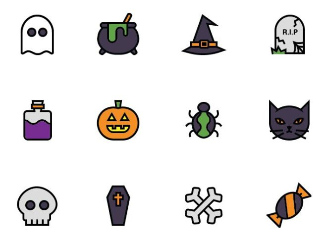 12 Spooky Icons For Halloween