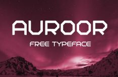 Auroor Geometric Font