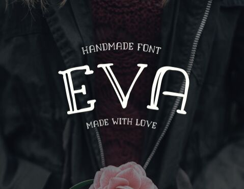 EVA Handmade Font