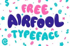 AIRFOOL Cute Typeface