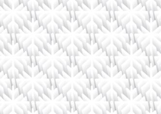 3D Snowflake Pattern Vector