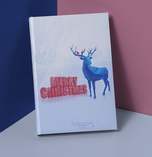 Christmas Deer PSD