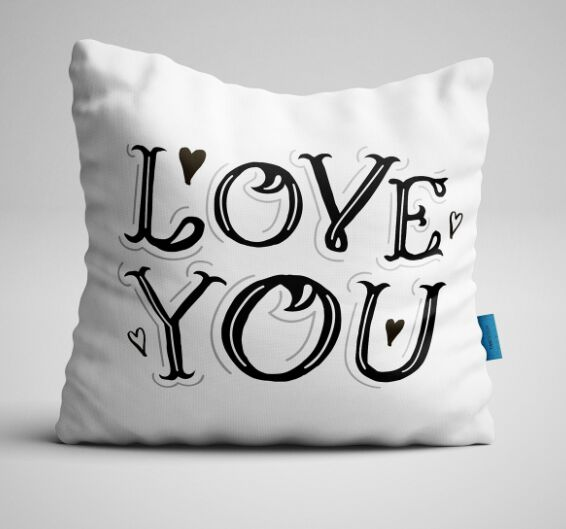 Love You Vector Design For Valentine's Day