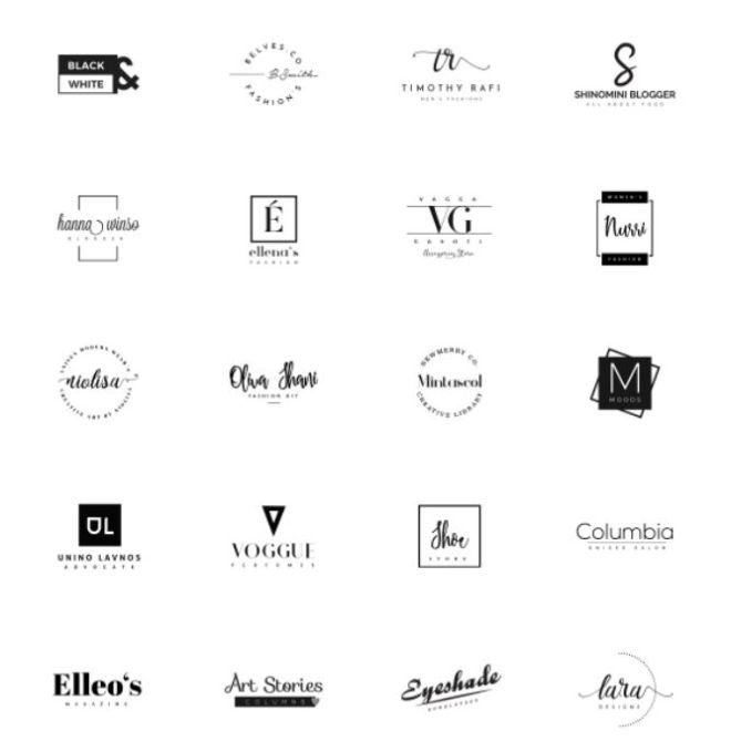 20 Retro Insignia & Logo Templates Vector