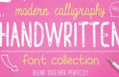 5 Modern Handwritten Fonts