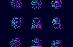 Artificial Intelligence SVG Icons