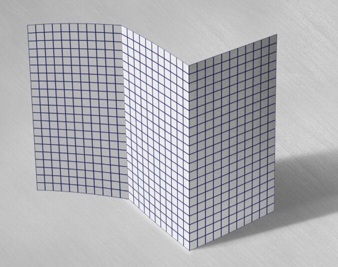 free blank tri fold brochure template with grid psd titanui