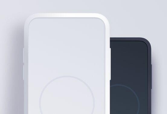 Minimal Flat iPhone X Mockup For Sketch