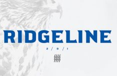Ridgeline 201 Display Font
