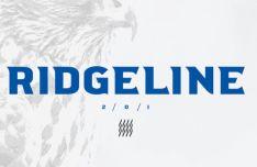 Ridgeline 201 Display Font