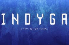Indyga Display Font