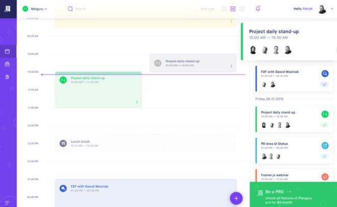 Planguru Pixel Perfect UI Kit For Sketch