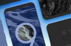 3 Samsung Galaxy S9 Mockups PSD