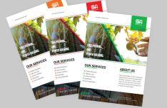 Customizable Corporate Flyer PSD Template