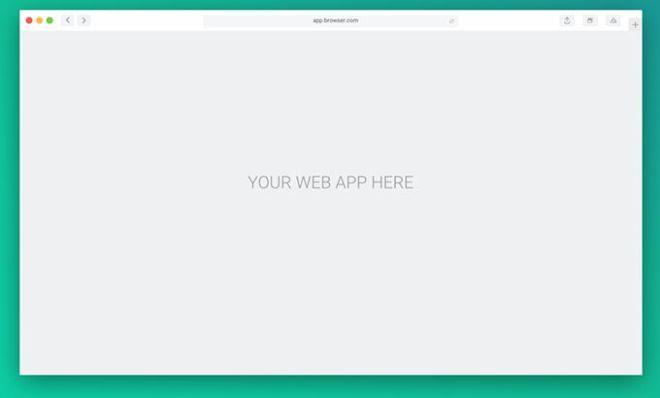 Minimal Browser Sketch Mockup-min
