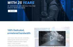 DataBoss Webhosting Website Template PSD-min
