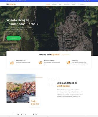 Minimal Landing Page For Travel Website-min