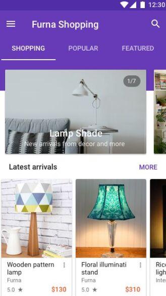 Minimal Online Store Mobile App UI For Sketch-min