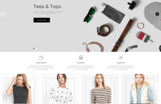 ARKANA Modern Clean E-commerce Web Template PSD-min