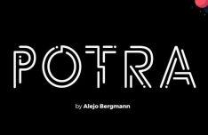 Potra Line Font-min
