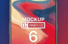 Photorealistic OnePlus 6 PSD Mockup-min
