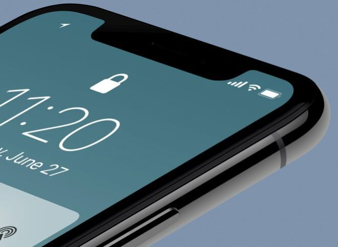 Smooth High Resolution iPhone X Mockup-min