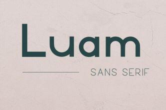Luam Sans Serif Font-min