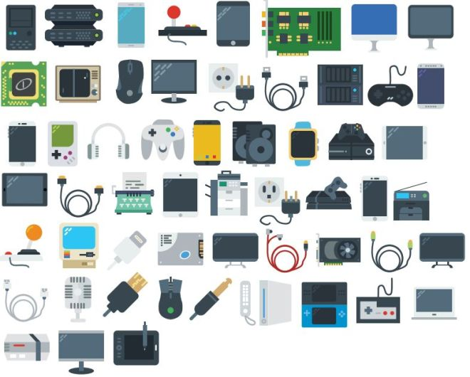 56 Vector Electronic Devices