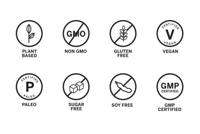 8 Food Claim Vector Icons