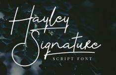 Hayley Signature Script Font-min