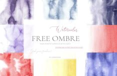 Hand Painted Watercolor Textures-min