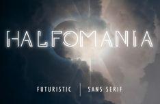 HALFOMANIA Futuristic Font-min
