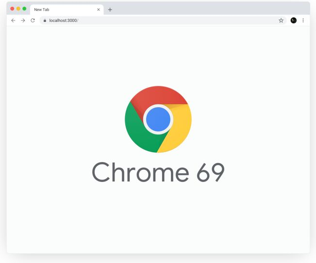 New Google Chrome 69 Sketch Mockup