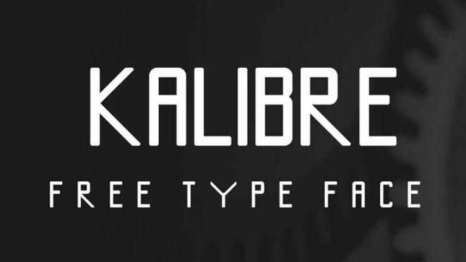 Kalibre Typeface