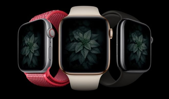 Realistic Apple Watch Series 4 Mockup PSD