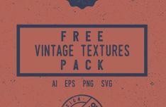 10 Vintage Grunge Vector Textures