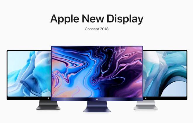 New Apple Display Concept 2018 Sketch Mockup